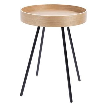 stolik pomocniczy Oak Tray, Ø46,5 cm, Zuiver