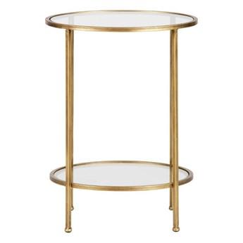 stolik pomocniczy Goddess, antyczny mosiądz, Be Pure Home