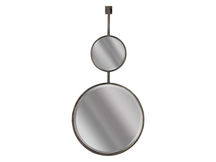 podwójne lustro industrialne Chain, rozmiar L, Be Pure Home Ścienne Styl Vintage Okrągłe Styl Nowoczesny