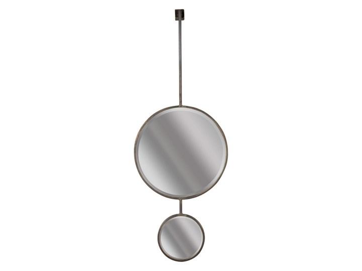 podwójne lustro industrialne Chain, rozmiar XL, Be Pure Home Styl Nowoczesny Okrągłe Ścienne Styl Vintage