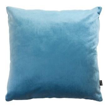 poduszka Velvet, błękitny 45x45 cm, Poduszkowcy