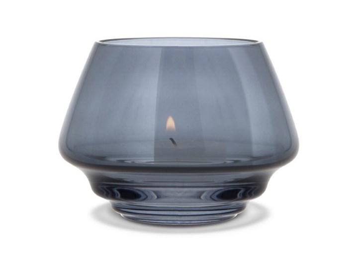 szklany świecznik Flow, Ø10 cm niebieski, Holmegaard Szkło Kategoria Świeczniki i świece