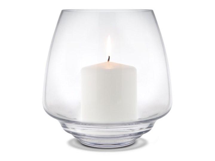 szklany świecznik Flow, Ø18,5 cm przezroczysty, Holmegaard Szkło Kategoria Świeczniki i świece