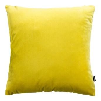 poduszka Velvet, żółty 45x45 cm, Poduszkowcy