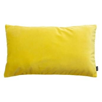poduszka Velvet, żółty 50x30 cm, Poduszkowcy