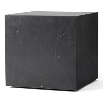 marmurowy postument Plinth Cubic, czarny, MENU