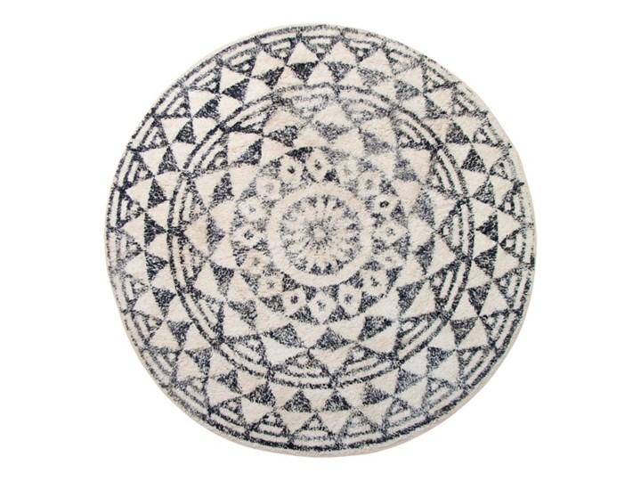okrągła mata łazienkowa Ø120 cm, beżowy/szary, HK Living Bawełna Kategoria Dywaniki łazienkowe