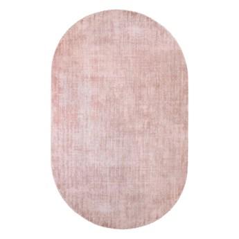 owalny dywan z wiskozy, 150x240 cm nude, HK Living