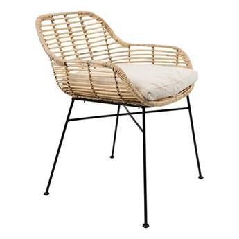 rattanowe krzesło Tiger, naturalny, LuDesign