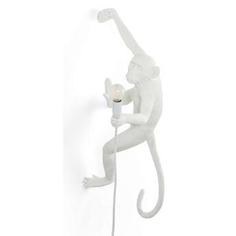 Lampa ścienna Monkey Hanging, biały, Seletti