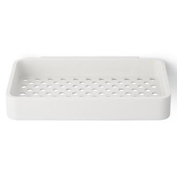 Półka pod prysznic / mydelniczka Norm Bath, biała, Menu