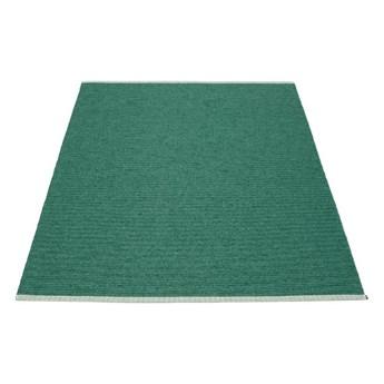 Prostokątny dywan Mono, Dark Green Pappelina, różne rozmiary