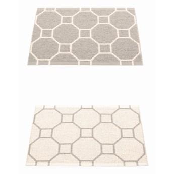 Dwustronny dywan Rakel, Warm Grey/Vanilla Pappelina, różne rozmiary