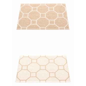 Dwustronny dywan Rakel, Beige/Vanilla Pappelina, różne rozmiary