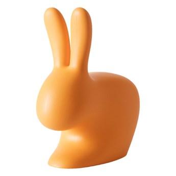 Stoper do drzwi Rabbit XS, pomarańczowy, QeeBoo