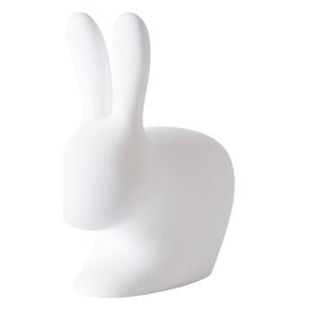 Stoper do drzwi Rabbit XS, biały, QeeBoo