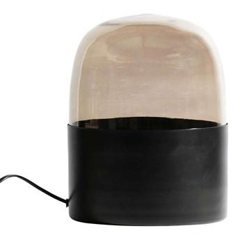 Lampa stołowa Dome, czarny/przydymiony, Be Pure Home