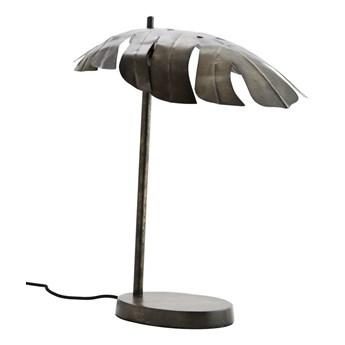 Metalowa lampa stołowa liść monstery, Madam Stoltz