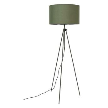 Lampa podłogowa na trzech nogach Lesley, zielony, Zuiver