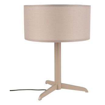 Lampa stołowa Shelby, taupe, Zuiver