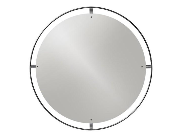Okrągłe lustro Nimbus Ø110 cm, brązowy mosiądz , MENU Ścienne Lustro z ramą Pomieszczenie Przedpokój