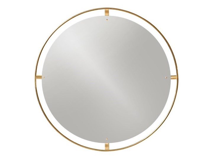 Okrągłe lustro Nimbus Ø110 cm, mosiądz, MENU