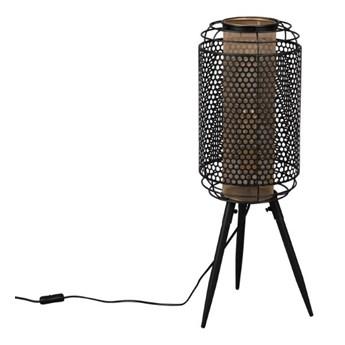 Lampa podłogowa Archer M, czarny/złoty, Dutchbone