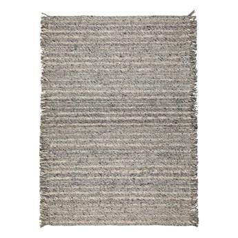 Wełniany dywan Frills 170x240 cm, szary, Zuiver