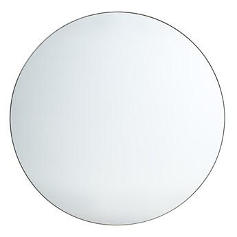 Okrągłe lustro w ciemnej ramie Ø120 cm, HK Living