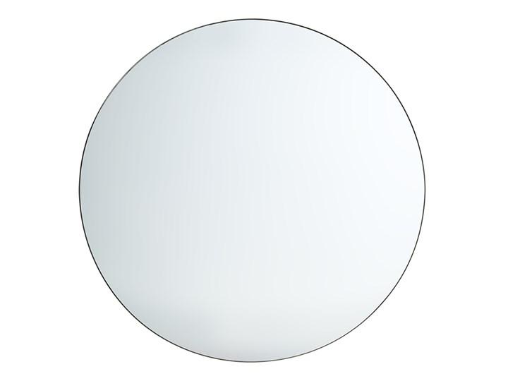 Okrągłe lustro w ciemnej ramie Ø120 cm, HK Living Ścienne Styl Rustykalny