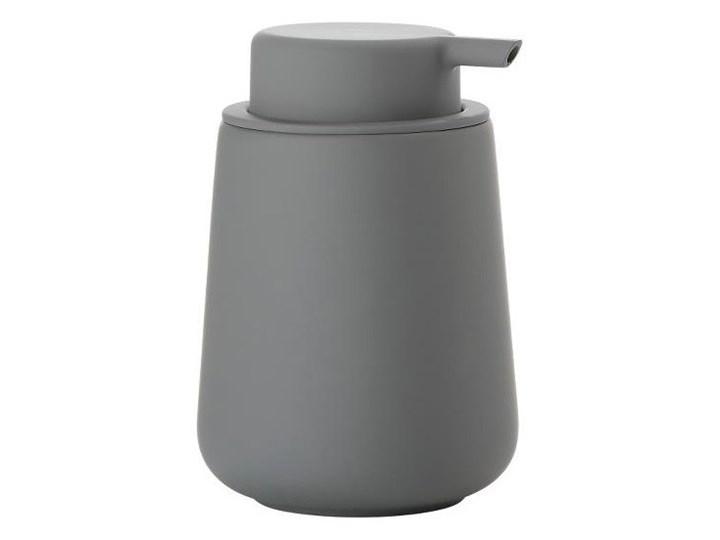 Dozownik do mydła Nova One Zone Denmark, ciemnoszary mat Ceramika Dozowniki Plastik Kategoria Mydelniczki i dozowniki