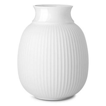 Porcelanowy wazon Curve 12 cm, biały. Lyngby Porcelain