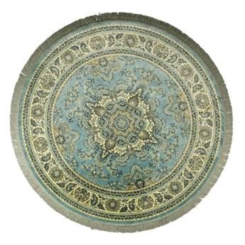 Okrągły dywan Bodega Ø175 cm, zielony, Dutchbone