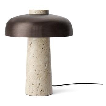 Lampa stołowa Reverse, bezowy/brązowy, MENU