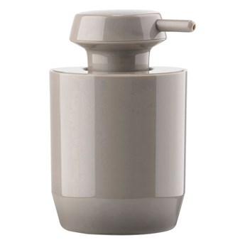 Dozownik do mydła Suii 12,4 cm, taupe, Zone Denmark
