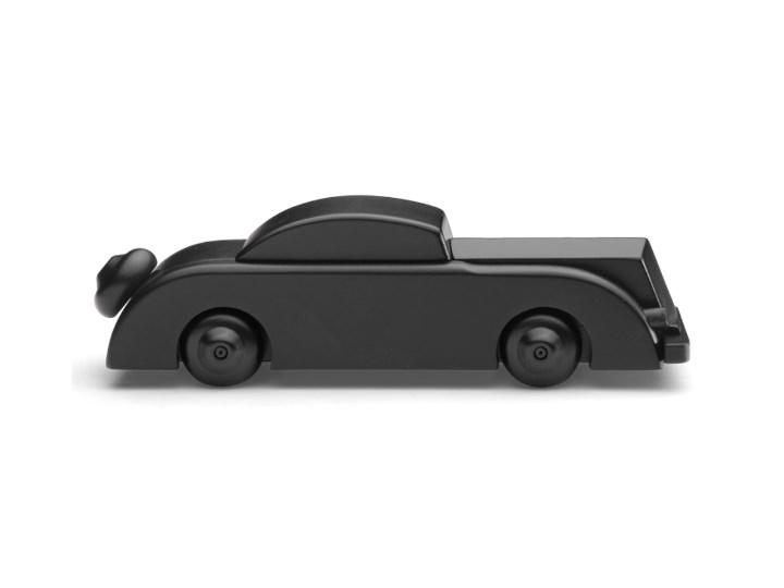 Mała czarna drewniana limuzyna, Kay Bojesen Drewno Kolor Czarny Zwierzęta Kategoria Figury i rzeźby