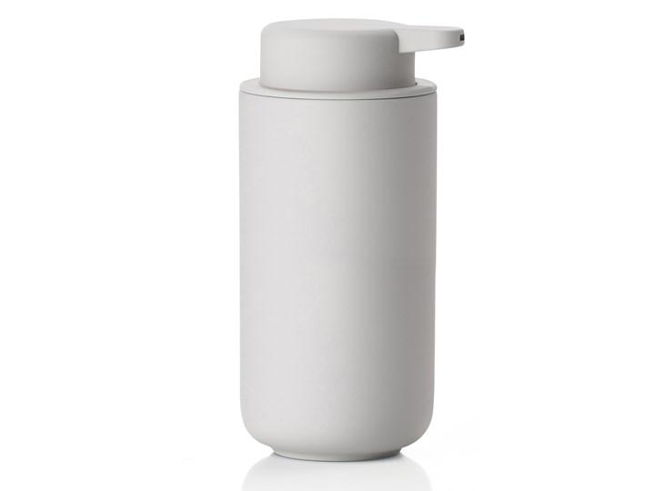 Dozownik do mydła duży Zone Ume, aksamitny jasny szary mat, Zone Denmark Dozowniki Beton Ceramika Kategoria Mydelniczki i dozowniki