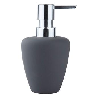 Dozownik do mydła Soft, szary/srebrny, Zone Denmark