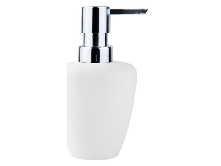 Dozownik do mydła Soft, biały/srebrny, Zone Denmark