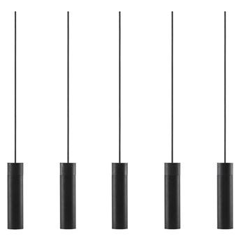 Lampa wisząca Tilo 5-kloszy czarna, Nordlux