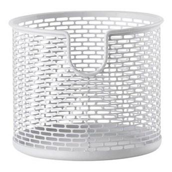 Koszyk na kosmetyki biały Ø12 cm Zone Denmark
