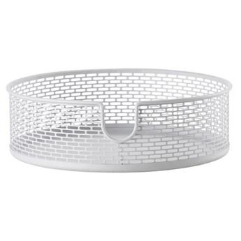 Koszyk na kosmetyki biały  Ø20 cm Zone Denmark