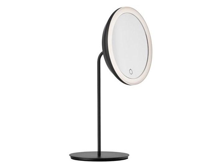 Lusterko do makijażu z podświetleniem, czarne, Zone Denmark Pomieszczenie Łazienka Kolor Czarny