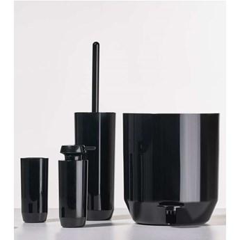 Komplet łazienkowy Suii czarny 4 elementy, Zone Denmark