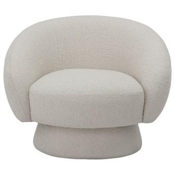 Fotel Ted biały, Bloomingville