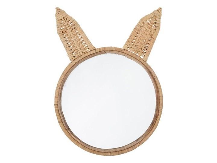 Ozdobne lustro w kształcie królika, Bloomingville