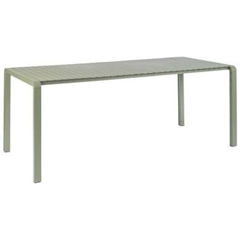 Zielony stół ogrodowy Vondel 214x97 cm, Zuiver