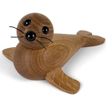 Drewniana dekoracja - mama foka, Spring Copenhagen