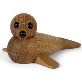 Drewniana dekoracja - mała foczka, Spring Copenhagen