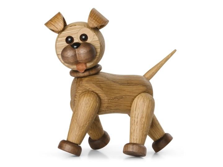 Drewniana dekoracja Happy piesek, Spring Copenhagen Drewno Zwierzęta Kategoria Figury i rzeźby